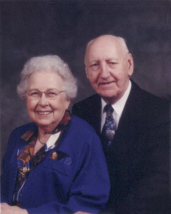 Bob Drinnan and wife in 1999