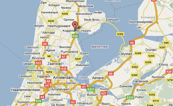 almere holland map